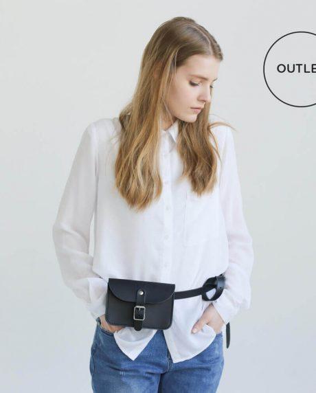 NOSKA Leather Belt Bag